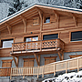 Chalet Sauterelle in Winter